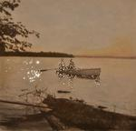 Amy Friend: On the Lake at Sunset, 2015