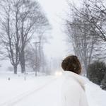 Cig Harvey: Hannah in the Blizzard, 2017