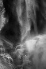 David H. Gibson: Water Cascade, 07 1688, British Columbia, Canada