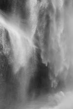 David H. Gibson: Water Cascade, 07 1620, British Columbia, Canada