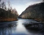 Jeff Rich: Foam from Pollution, The Pigeon River, Hartford, Tennessee, 2007