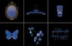 Laurie Tümer: Glowing Evidence: Studies in Blue, 2005