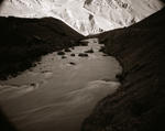 Linda Connor: River With Mountains, Ladakh, India, 1998