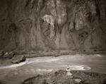 Linda Connor: Indus River with Chorten, Ladakh, India, 2002