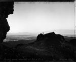 Mark Klett: Facing South, 9/18/00, Sunrise at Black Rock, NV