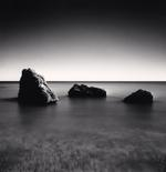 Michael Kenna: Three Rocks, Canale Beach, Vasto, Abruzzo, Italy
