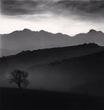 Michael Kenna: Tree and Gran Sasso Mountain, Castilenti, Abruzzo, Italy, 2015
