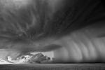 Mitch Dobrowner: Rain Curtain, 2014