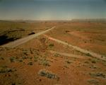 Steve Fitch: Three highways between Mexican Hat and Bluff, Utah, June 18, 1983