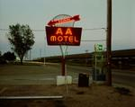 Steve Fitch: AA Motel, Holdrege, Nebraska, May 22, 1981