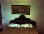 Steve Fitch: Bedroom in a house in Ancho, Eastern New Mexico, May 14, 2000