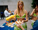 Susana Raab: Tofu-Dog, Playboy Playmate, PETA Protest, Washington, DC