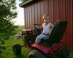 Todd Stewart: Lawnmower, 2006