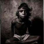 William Coupon: Australian Aboriginal Boy, Utopia Station, Australia, 1980